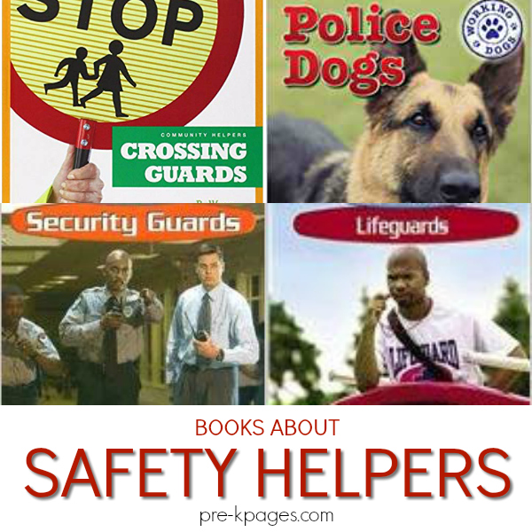 safety community helpers books pre-k