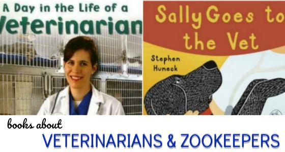 veterinarians zookeepers books