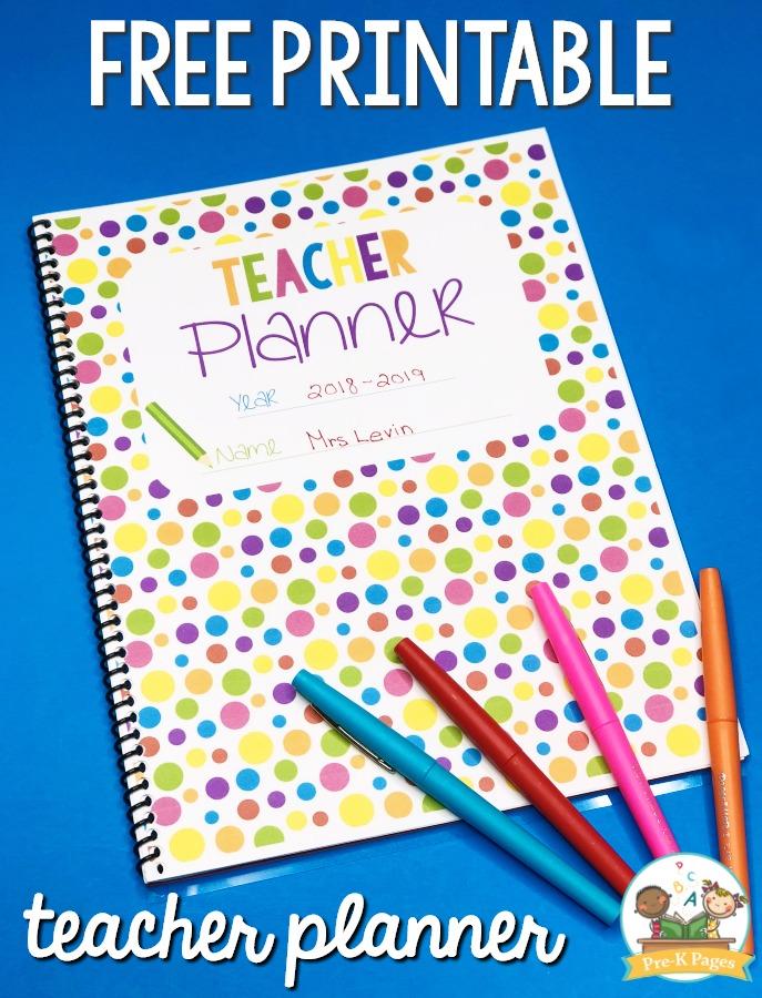 Best Teacher Planner for Preschool