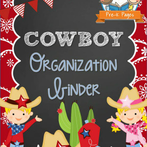 Cowboy Organization Binder
