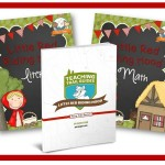 Little Red Riding Hood Printable Lesson Plans for Preschool