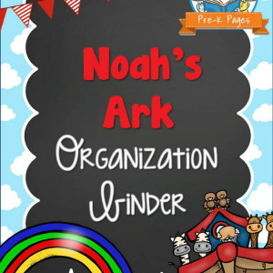 Noah's Ark Organization Binder