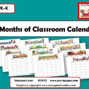 Classroom Calendars