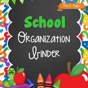 School Organization Binder