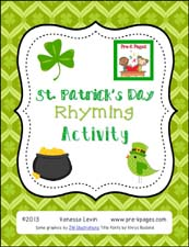 St. Patrick's Day Rhyming
