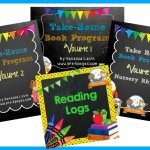 Read at Home Bundle: 4 Great Printable Packets to Promote Reading at Home in Preschool and Kindergarten