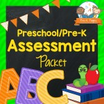 Preschool Assessment Packet