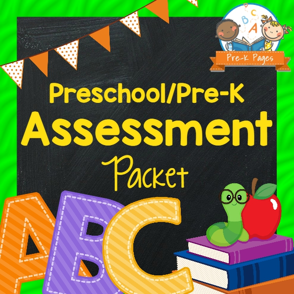 Student Assessment Packet  PreK Pages