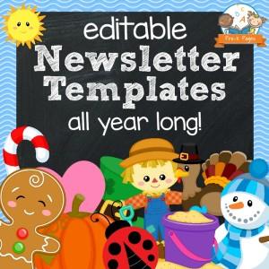 Classroom Newsletters
