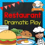 restaurant Dramatic Play Cover
