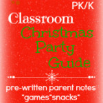 Christmas Party Planning Guide for Preschool and Kindergarten