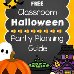Halloween Classroom Party Planner