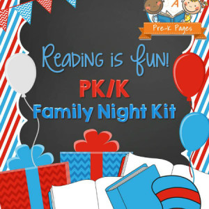 Reading is Fun Family Literacy Night Kit