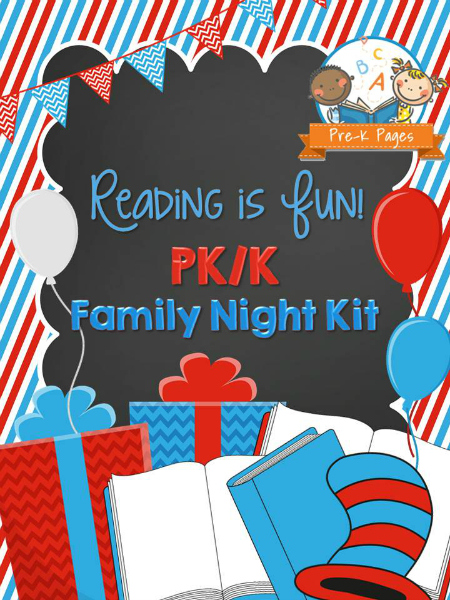 Reading is Fun Family Night Kit
