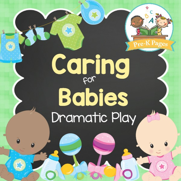 Dramatic Play Baby Nursery Pre K Pages