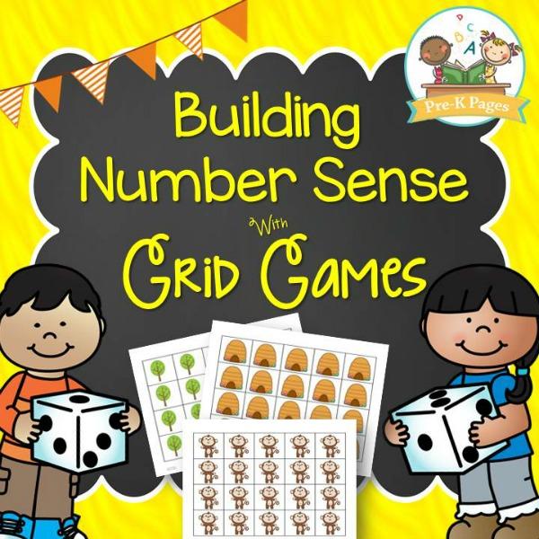Building Number Sense with Grid Games in Preschool
