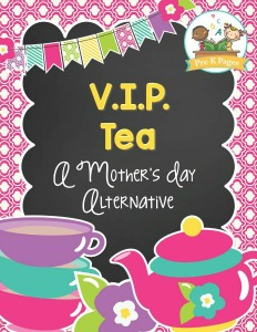 Preschool Mother's Day Tea Party