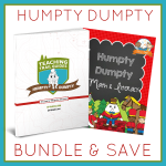 Bundle and Save with this printable bundle of Humpty Dumpty theme resources for Preschool!