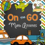 Printable Transportation Theme Math Activities for Preschool