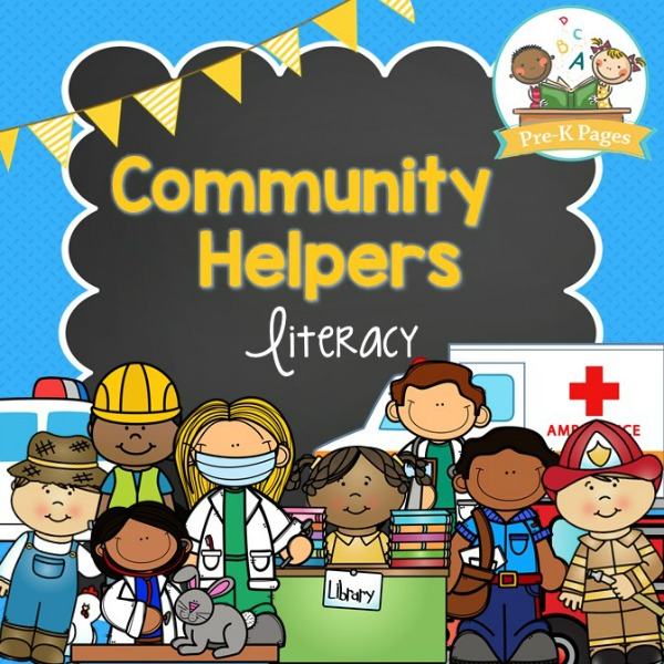 Community Helpers Literacy Pre K Pages