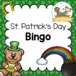 A fun printable bingo game for a St Patricks Day theme or party in your preschool or kindergarten classroom