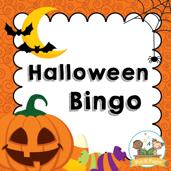 a fun printable halloween game for preschool and kindergarten kids - Preschool Halloween Bingo