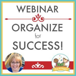 Webinar Ticket: Organize for Success!