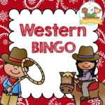 Printable Western Cowboy Bingo Game