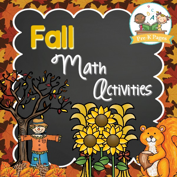 Fall Math Activities for Preschool
