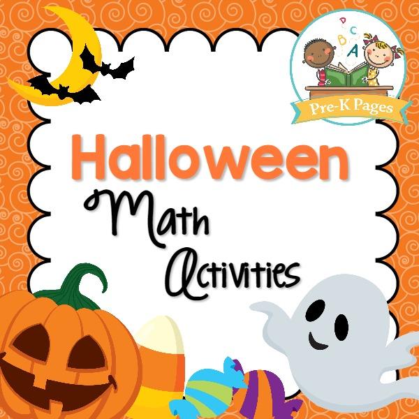 Halloween Math Activities Prek Pages. Printable Halloween Math Activities For Preschool. Worksheet. Halloween Worksheets For Pre K At Mspartners.co