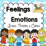 How to Teach Preschoolers to identify their feelings and emotions printable kit