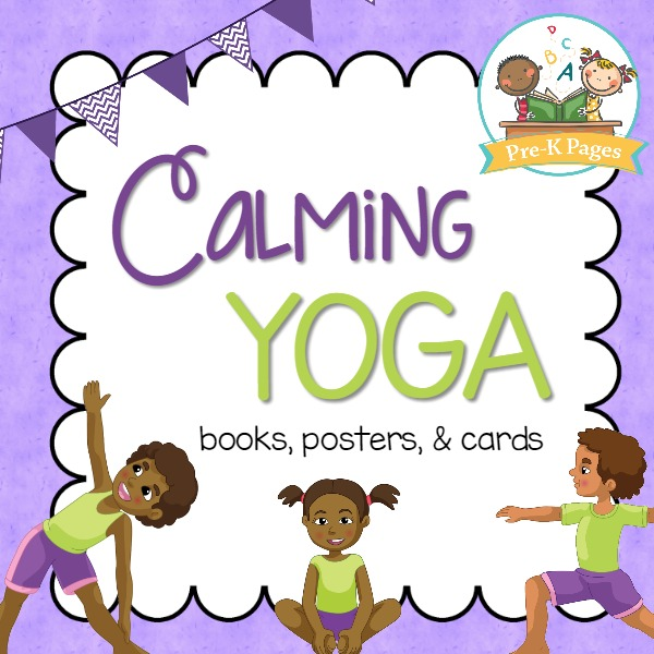 Yoga in the Classroom Printable Books Posters and Cards