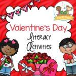 Valentines Day Literacy Activities for Preschoolers