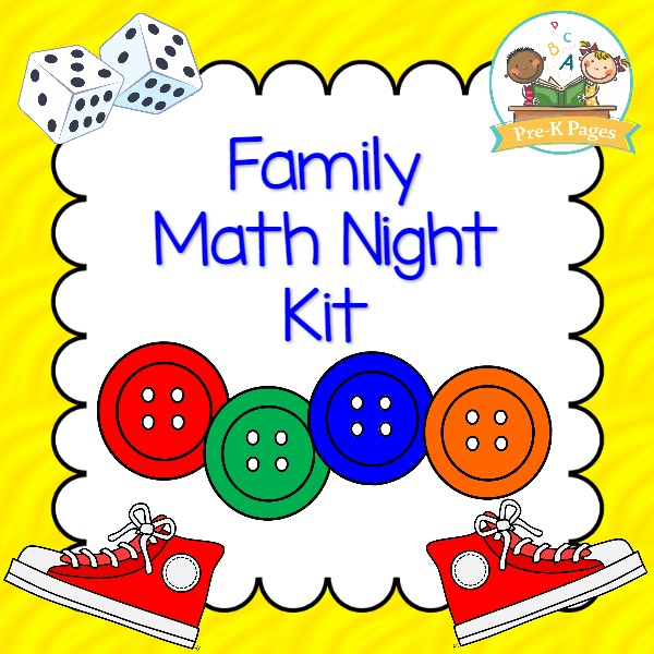 Family Math Night for Preschool and Pre-K