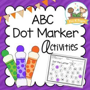 ABC Bingo Dot Marker Activities