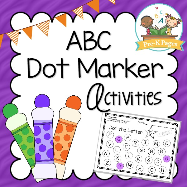 Printable ABC Dot Marker Activities
