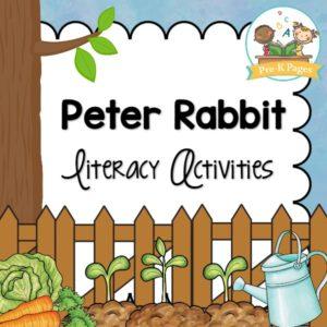 Peter Rabbit Literacy Activities