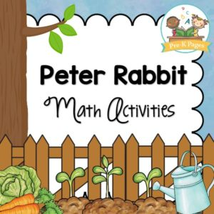 Peter Rabbit Math Activities