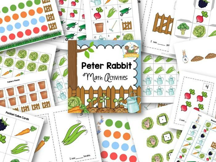 Peter Rabbit Math Activities - Pre-K Pages