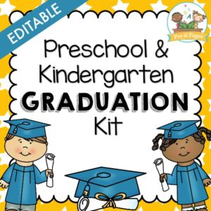 Preschool Graduation Program Printable Kit