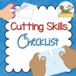Cutting Skills Printable Checklist