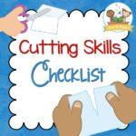 Cutting Skills Printable Checklist