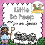 Little Bo Peep Printable Activities for Preschool Nursery Rhyme Theme