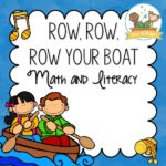 Row Row Row Your Boat Activities for Preschool