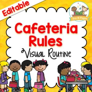 Cafeteria Visual Routine