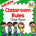 Printable Classroom Rules for Circle Time