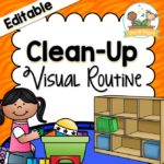 Clean Up Visual Routine for Preschool and Kindergarten