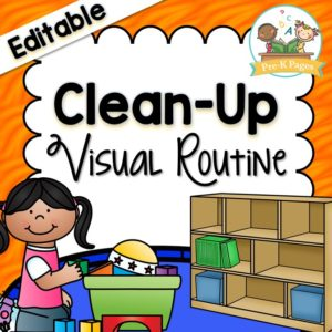 Clean Up Visual Routine
