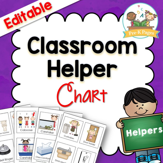 Easy Classroom Helper System for Preschool and Kindergarten