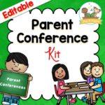 Editable Parent Conference System for Preschool Pre-K and Kindergarten Teachers
